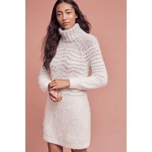 NWOT Anthropologie Eyelash Sweater Dress Medium
